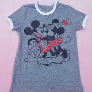 Mickey and minnie tshirt